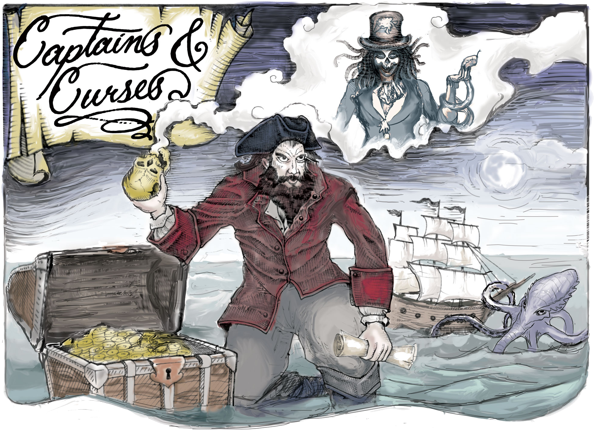 Captains and Curses banner